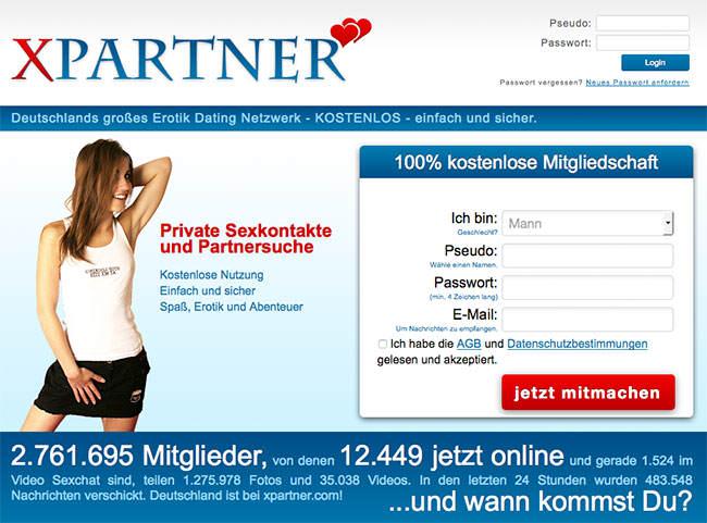 XPartner-Startseite
