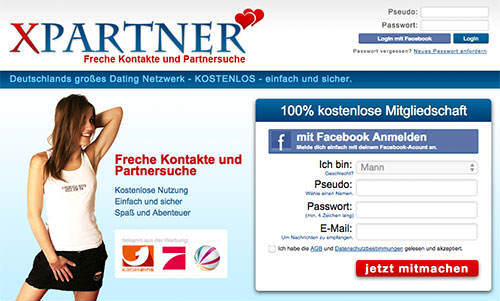 kostenlose Sexdates findet man bei XPartner